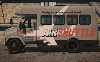 Saints Row IV variants - DonoVan Airport - left