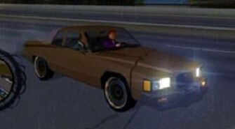 Stiletto - front right with lights in Saints Row