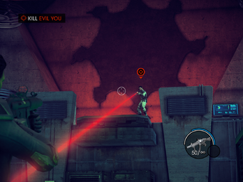 The Case of Mr. X - Kill Evil You objective with Evil You