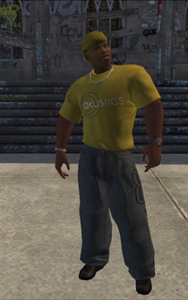 Vice Kings male Killa1-02 - Black - character model in Saints Row