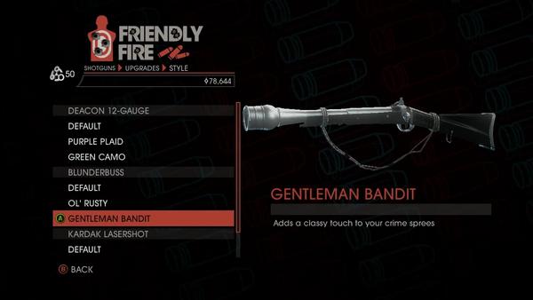 Weapon - Shotguns - Pump-Action Shotgun - Blunderbuss - Gentleman Bandit