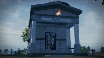 Cemetery Sex Cavern - Hawk entrance