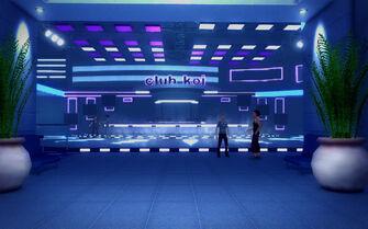 Club Koi - interior main entrance