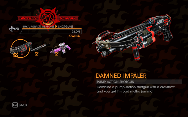 Gat out of Hell - Pump-Action Shotgun