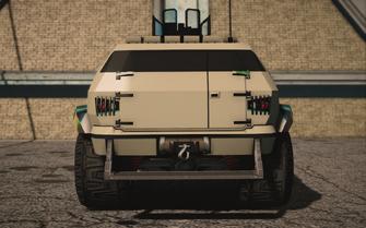 Saints Row IV variants - N-Forcer NG - rear