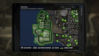 Secret Area - Robot House on map