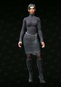 Viola Morningstar - character model in Saints Row The Third