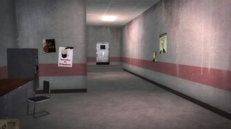 Brown Baggers Rebadeaux interior rear hallway