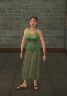 Goth female - white generic - character model in Saints Row 2