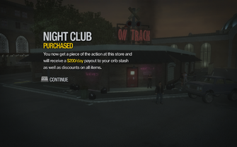 Night Club in Encanto purchased in Saints Row 2