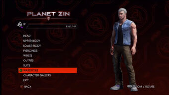 Planet Zin in Saints Row IV