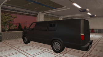 Saints Row variants - Anchor - CS Van - rear left