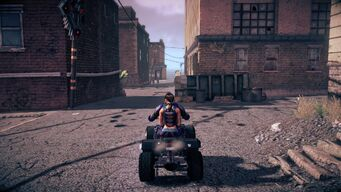 Toad - rear in Saints Row IV