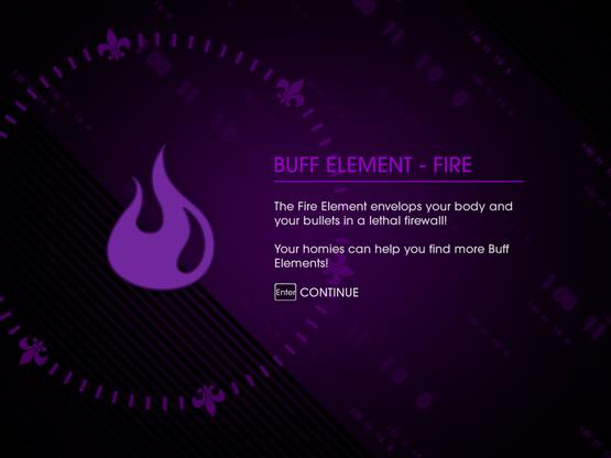 A Game of Clones - reward 2 - Buff Element - Fire