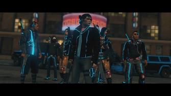 Deckers gang members in the Deckers.Die Trailer