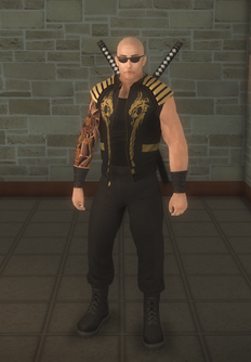 Jyunichi - Shades - character model in Saints Row 2