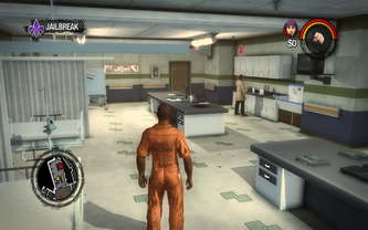 Saints Row 2 incorrect widescreen aspect ratio - high settings