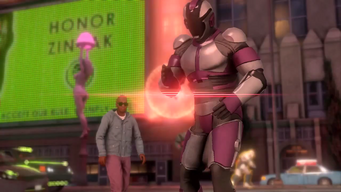 Saints Row IV Announce Teaser - Honor Zinyak sign