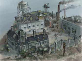 Stilwater Penitentiary - concept art