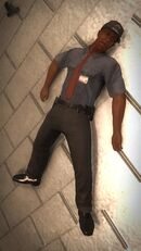 Ultor Security Guard - thin guard dead