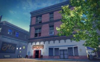 Bavogian Plaza in Saints Row 2 - Rusty's Needle