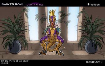 Escape the Dominatrix - Velociraptor king