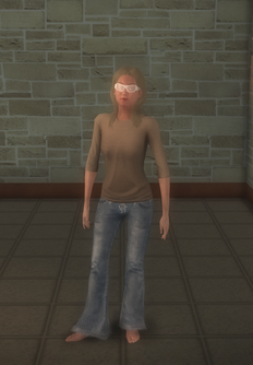 Hippie female - generic - character model in Saints Row 2