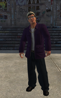 Johnny Gat - character model in Saints Row