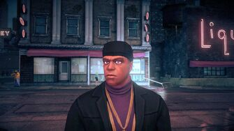 Julius Little - face in Saints Row IV