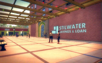 Southern Cross in Saints Row 2 - Stilwater Savings & Loan