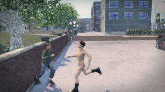 Streaking - Playa running to the left in Saints Row 2