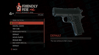 Weapon - Pistols - Quickshot Pistol - 9MM Tactical - Default