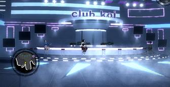Club Koi - interior bar area