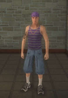Gang Customization - Gangster - male soldier - white