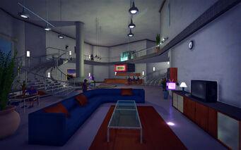Hotel Penthouse - Classy - tv area