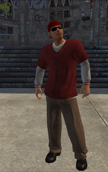 Los Carnales Placeholder - character model in Saints Row