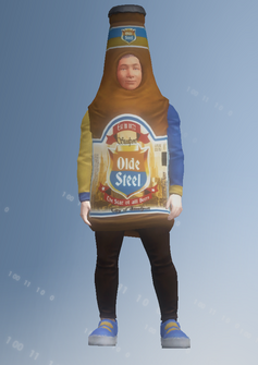 Mascot03 - Beer - character model in Saints Row IV