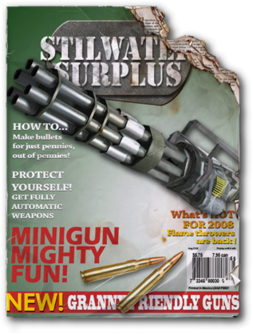 Mini-Gun unlock magazine
