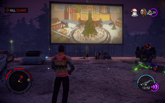 Miracle on 3rd Street - Kill Clawz objective at drive-in