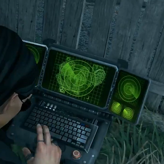 Reaper Drone in use by Playa in the Itagaki Trailer
