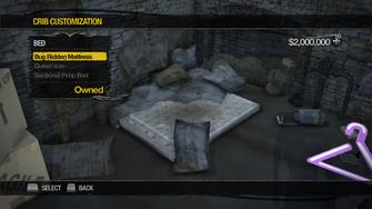 Red Light Loft - Crib Customization - Bed - Bug Ridden Mattress