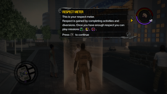 Respect Meter tutorial in Saints Row 2
