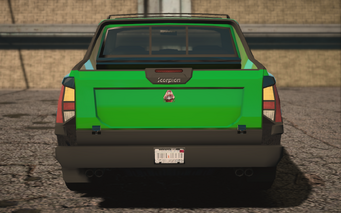 Saints Row IV variants - Criminal Luchadore - rear