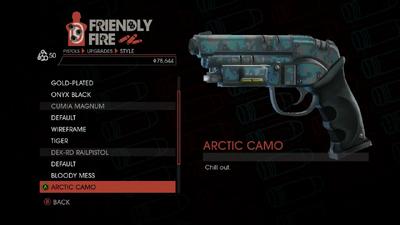 Weapon - Pistols - Heavy Pistol - DEK-RD Railpistol - Arctic Camo