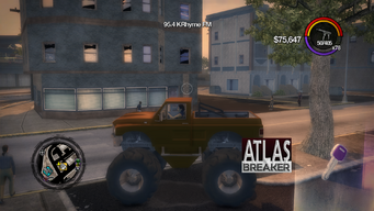 Atlasbreaker - left in Saints Row 2