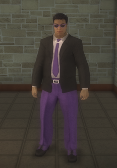 Gang Customization - Bodyguards - male lieutenant 2 - hispanic