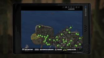 Secret Area - Lost Island on map