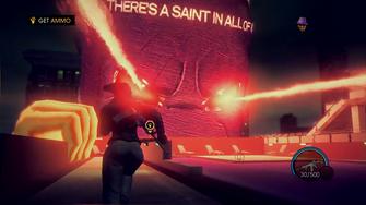 The Saints Flow SRIV livestream 00.05.38 Paul lasers