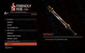 Weapon - Melee - Baseball Bat - The North Pole - Default
