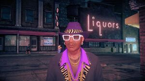 Zimos - face in Saints Row IV